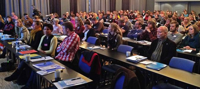 NAM Tromsø 2013, Rica Ishavshotell. Dag 2 av konferansen. Foto: Ingrid Sommerseth